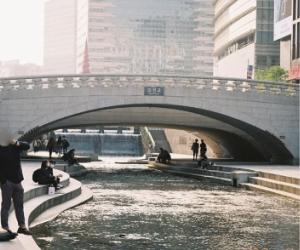 現在の毛塵(モジョン)橋