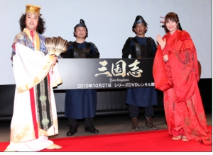 山本モナが中国四大美女に変身した「三国志」イベントをレポート!作品予告動画も公開中!