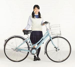 通学用自転車「アルベルト」