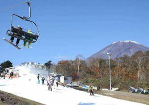 富士急行、富士山のスキー場「イエティ」を21日にオープン、前夜からUSTREAMで生中継