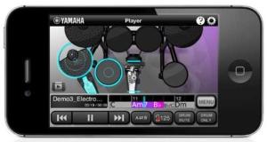 ヤマハ、ドラム演奏をサポートするiPhone向けAP「Song Beats」無料提供開始!機能を動画で紹介