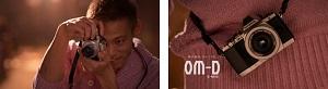 オリンパス、ミラーレス一眼カメラ「OM-D E-M10」本田圭佑出演、B'z・稲葉浩志楽曲TVCM、インタビュー、メイキングを公開