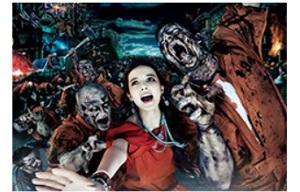 USJ、「ハロウィーン・ホラー・ナイト」を9月12日から開催、ベッキー出演TVCMを公開