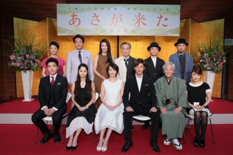 NHK朝ドラ史上初づくしの「あさが来た」って?波瑠、玉木宏、宮﨑あおいらが登壇した取材会動画公開中!
