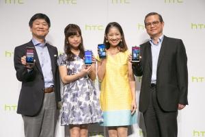 HTC「Desireシリーズ」発売会見にふなっしー色で大渕愛子登壇!大澤玲美登は小島よしおとのその後を報告?関連動画
