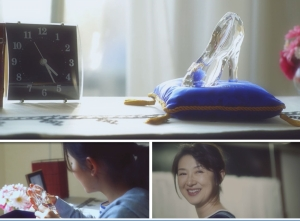 NTT西日本、村上穂乃佳が出演する電報サービス「シンデレラ DENPO」(ガラスの靴)WEB動画公開