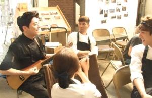 チョ・ジョンソク弾き語り…「ああ、私の幽霊さま」DVD SET1 メイキング映像の一部を公開!