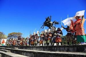 熊本県菊池市、全国35万人の「きくちさん」を招待、菊池一族の歴史がよく分かるまんがムービー「風雲菊池一族」を公開