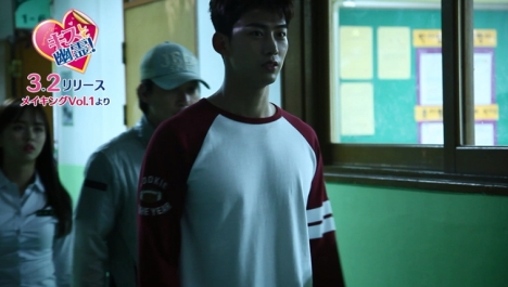 「キスして幽霊!」テギョン(2PM)のセリフ噛みにキム・ソヒョンも爆笑!?撮影メイキング映像が公開!<br/>