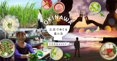 沖縄の「食」を五感で楽しめる公式サイト公開!インスタ映え観光スポットも紹介!関連動画