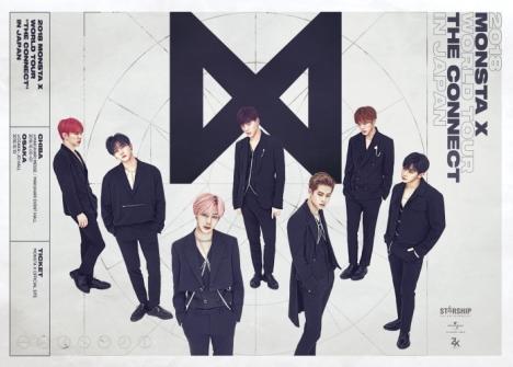 【K-POP】MONSTA X 日本オリジナル4thSG「LIVIN' IT UP」9/12リリース決定!