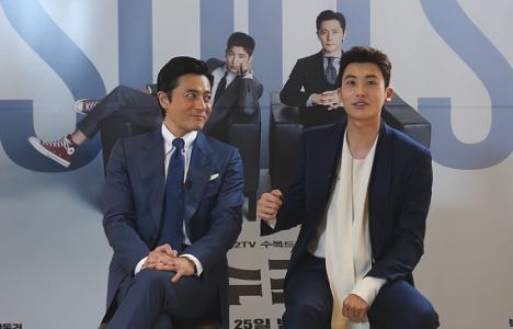 「SUITS/スーツ~運命の選択~」チャン・ドンゴン×パク・ヒョンシク インタビュー映像Part1初公開!