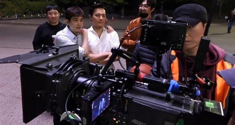 チャン・ドンゴンとパク・ヒョンシクがバスケ!「SUITS/スーツ~運命の選択~」メイキング映像6公開!