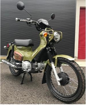 【バイク好き必見】BS11「大人のバイク時間MOTORISE」10周年記念!オリジナルペイントバイクプレゼント!