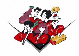 """フレンズNewSG「楽しもう/iをyou」6/6リリース決定!""""食""""をテーマにした本作アートワークも初公開!"""