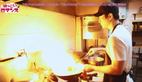 熱々中華鍋を回す凛々しいジュノ(2PM)に胸キュン!「油っこいロマンス」メイキング映像公開!
