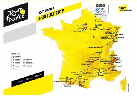 7月6日から開幕する「ツール・ド・フランス2019」全21ステージライブ配信!