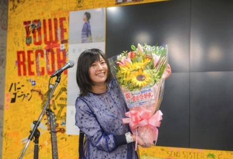 おもろい話をせなあかん!番匠谷紗衣「自分だけの空」、地元大阪で発売記念イベント実施!