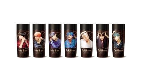 BTSコラボコーヒー、10月23日(水)予約受付開始!BTSの写真によるパッケージ公開!