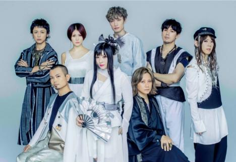 和楽器バンド12/4リリース、コンセプトEP「REACT」のジャケット写真&新アーティスト写真解禁 !!