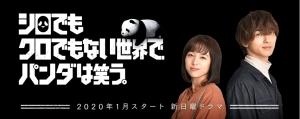 【2020冬ドラマ】日テレ1月 横浜流星×清野菜名「シロでもクロでもない世界でパンダは笑う。」PR動画解禁