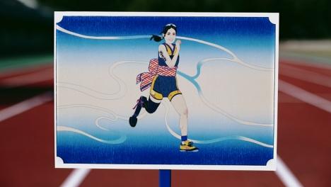 ZAZEN BOYS・向井秀徳がオリジナル楽曲を歌い上げる!パラ谷真海選手出演4千カットの浮世絵風イラストから成る動画公開