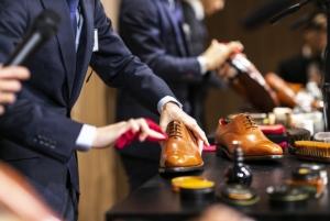 靴磨き選手権大会 2020の決勝をライブ配信