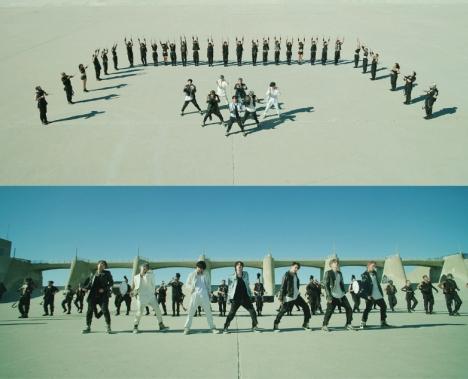 BTS&40名以上のダンサーらとの「MAP OF THE SOUL : 7」リード曲MVが約20時間で3800万回突破