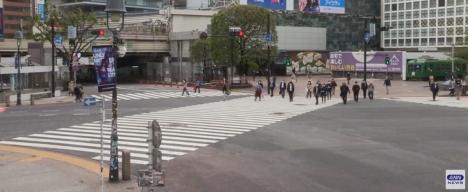 スクランブル ライブ 渋谷 映像 交差点 足利で「渋谷駅前交差点」再現 撮影用のオープンセット開設
