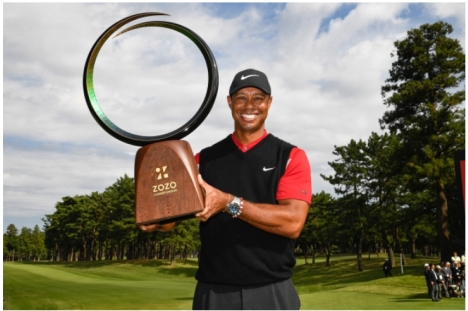 「タイガー・ウッズ」PGAツアー優勝全67試合ダイジェストを5/2より配信!5日間無料配信実施