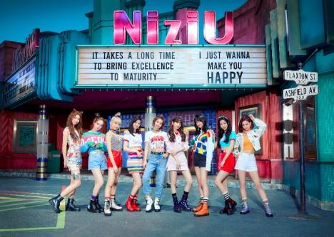 """NiziU キュートな""""縄跳びダンス""""が超話題に!JY Parkも出演「Make you happy」MV公開"""