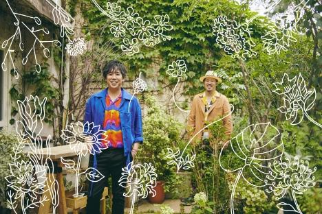 スキマスイッチ「スキマノハナタバ ~Smile Song Selection~」新ビジュアル&SPサイト 公開!