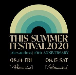 [Alexandros]有観客で真夏のフェス開催!待望の「THIS SUMMER FESTIVAL 2020」決定!<br/>
