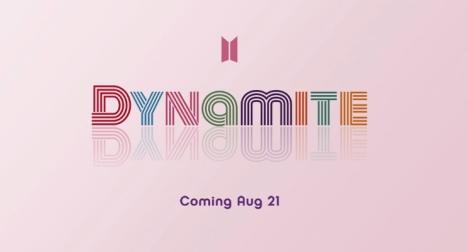 BTS新デジタルSGタイトルは「Dynamite」!新ロゴを発表に全世界が熱視線!