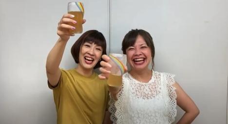 """乾杯は文化だ!デビュー20周年""""ビール女子"""" 花*花、クラフトビール20社とコラボした乾杯映像発表<br/>"""