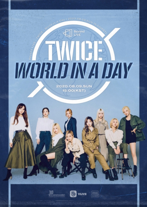 J.Y. Parkが総合プロデュース!TWICE『Beyond LIVE – TWICE : World in A Day』9日ついに開催!