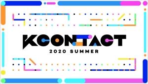 【Mnet】「KCONTACT  2020 SUMMER」8月27日18時から日韓同時放送決定!