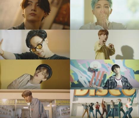 BTS、新しい構成の「Dynamite」'B-side'ミュージックビデオ公開!リアルなNGシーンまで!