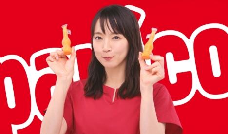 吉岡里帆が「うっま!!」と叫ぶパピコ新TVCM「パピベジ実感」篇OA!メイキング・インタビューも解禁<br/>