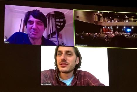ルカ・マリネッリ&ピエトロ・マルチェッロ監督が日本のファンの質問に回答!『マーティン・エデン』オンライン舞台挨拶レポート