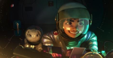 Netflix映画『フェイフェイと月の冒険』幼い頃からの夢を叶え、幻想的な月の王国に辿り着く6分の長尺本編映像解禁