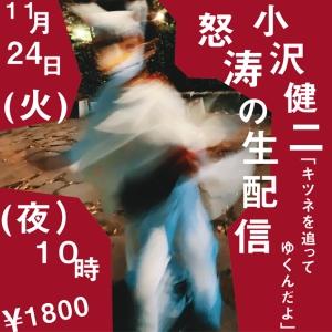 小沢健二が「手紙」読み上げる異色生配信、書き下ろしテーマ曲や幻のライブ演出映像も公開