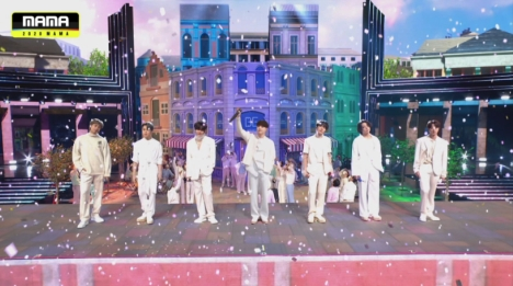 全世界約200地域が熱狂!「2020 MAMA」BTSが大賞4冠獲得!日本語字幕版は2021年1月29日放送・配信!
