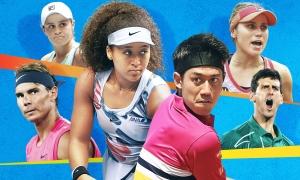 大坂なおみ、錦織圭らの活躍が注目される全豪オープンテニス、8日からライブ配信!