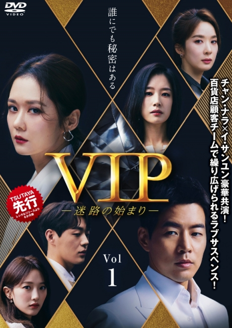 チャン・ナラ×イ・サンユン共演ラブサスペンス「VIP-迷路の始まり-」5月レンタル、6月発売決定!予告動画