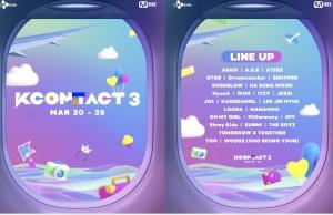 『KCON:TACT 3』K-POP現在と未来を担う26組が勢ぞろい!3/20~28YouTube にて開催
