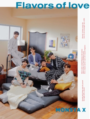 MONSTA X、JAPAN 3rd ALBUM「Flavors of love」新ビジュアル公開!ティザー映像公開中