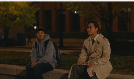 佐藤健、実は130歳?「半分、青い。」以来、約3年ぶりに矢本悠馬と大林組CMで共演!<br/>