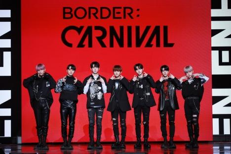 """ENHYPEN「BORDER : CARNIVAL」タイトル曲「Drunk-Dazed」特徴は""""牙ダンス""""と""""催眠ダンス""""、MV公開"""