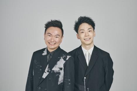 かまいたち、みちょぱプロデュース&カリスマ美容師・高木琢也のタッグで究極の宣材写真を撮る!